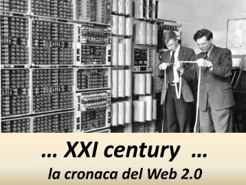 """What Ecco come viene definito da Tim O Reilly in What is Web 2.0 ..."