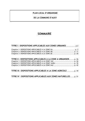 Zone UE - Communauté de communes du Beaunois