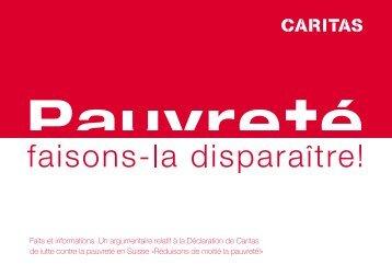 Faits et informations. Un argumentaire relatif à la ... - Caritas