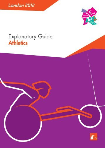 London 2012 Explanatory Guide Athletics - mujer y deporte - fedpc