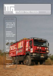 IN THIS ISSUE - - Fleet first