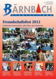 Freundschaftsfest 2012 - Bärnbach