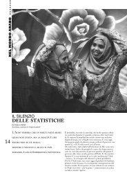 Il silenzio delle statistiche, di Paola Caridi - Aidos