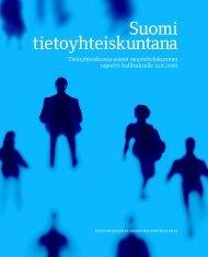 Suomi tietoyhteiskuntana - Valtiovarainministeriö