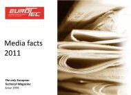 Media facts 2011 - Eurotec's Blog and Website