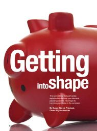 Demand Planning Article: Getting into shape - Oliver Wight Americas