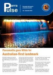 Parra Pulse July - September 2012 - Parramatta City Council