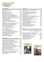 Jahresinhaltsverzeichnis 2011