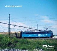 výroční zprávy ČD Cargo - Vlaky.net