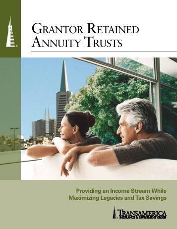 grantor retained annuity trust analysis Grantor retained annuity trusts a grantor retained  is an irrevocable trust for which the grantor retains the right to receive a fixed annual  stock analysis.