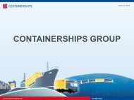 CONTAINERSHIPS GROUP