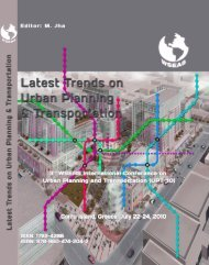 LATEST TRENDS on URBAN PLANNING and ... - Portal