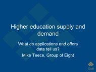 Higher education supply and demand - aair