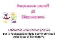 Sequenze murali di Biancaneve