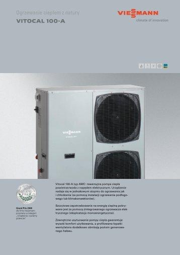 Ogrzewanie ciepłem z natury VITOCAL 100-A
