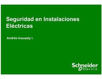 Seguridad en Instalaciones Eléctricas - Schneider Electric