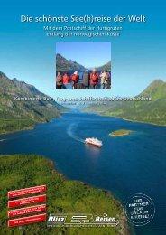 Der Hurtigruten-Katalog 2013 - Blitz-Reisen HomePage