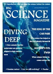 Science Newsletter #15 - Bournemouth School for Girls
