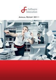 Annual Report 2011 - Software Innovation