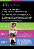 Aerobic Body Calm - Active Centre - Page 2