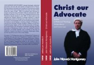 Christ our Advocate - World Evangelical Alliance