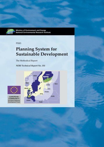 Planning System for Sustainable Development - Danmarks ...