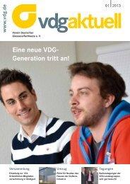 VDG aktuell 1/2013