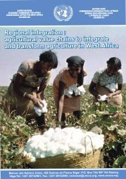 Agricultural Value Chains to Integrate and Transform Agriculture in ...
