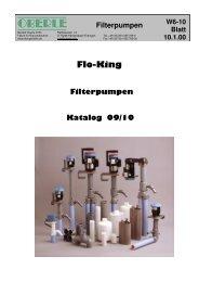 Flo King Filterpumpen Katalog 09/10