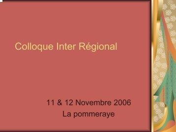 PJ 1 - Colloque Inter Régional format PDF