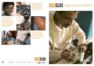 Rapport annuel 2010 - Fairmed