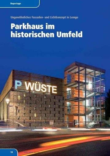 Parkhaus im historischen Umfeld Parkhaus im ... - Goldbeck GmbH
