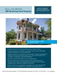 222 E 32nd - Call for Offers Packet(r2) - Historic Savannah Foundation
