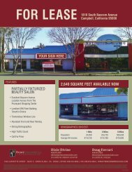2,640 squaRe Feet avaiLaBLe NOw - Prime Commercial, Inc