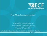 EuroVelo Business Model Presentation
