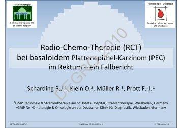 Radio-Chemo-Therapie (RCT)