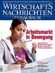 Ausgabe 04/2011 Wirtschaftsnachrichten Donauraum