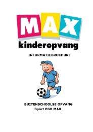 Sport BSO MAX - Max Kinderopvang