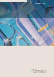 ÅRSRAPPORT 2004 ÅRSRAPPOR T 2004 - Affitech