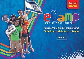 International Summer Camp in Israel Ages 7-18 - eCamp