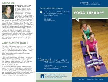 YOGA THERAPY - Nazareth College