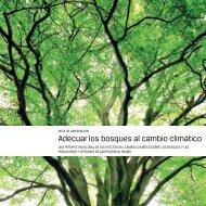 Adecuar los bosques al cambio climático - FAO