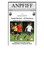 SpVgg Pittenhart – SV Ramerberg
