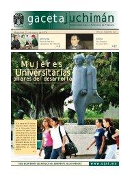 Mieroles 15 de Marzo de 2006 - Publicaciones - Universidad Juárez ...