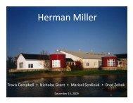 Herman Miller Final Presentation 12-14-09x - Business Library