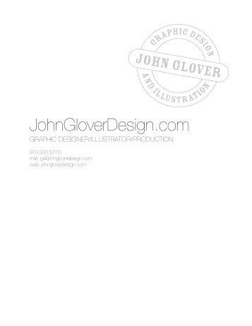 20 08 - John Glover :: graphic designer