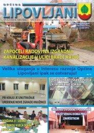 Bilten 9 - Općina Lipovljani