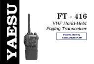 Yaesu FT-416 user manual - n7tgb