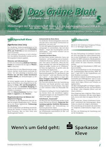 Das Grüne Blatt 1 5 - KJS Kleve