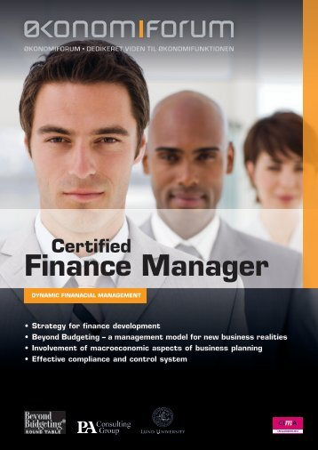 Certified Finance Manager